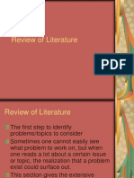 2 Chapter 2Review of Literature