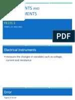 EE131.1 - Instruments and Measurements