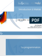 Introduction a Matlab - Cours