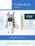 Cryolipolysis Easy Manual