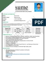 Azmat Updated Resume 0ct-2019