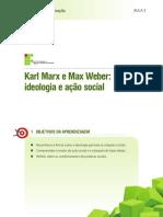 Aula 3 - Karl Marx e Max Weber- ideologia e ação social.pdf