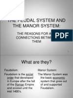 The Feudal System and the Manor System-0