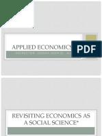 1QUIPPER Revisiting Economics as a Social Science