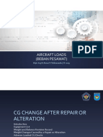Aircraft Load 2019 - 07 CG Change After Repair or Alteration