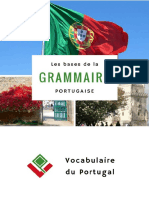 Vocabulaireduportugal Extrait eBook Bases Grammaire Portugais Europeen