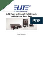 ELITE BATD simulator manual