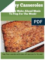 Casserole Recipes - 5 Make-Ahead Healthy Meals!
