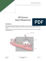 Dynamic positioning sensors