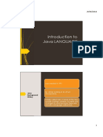 02 Introduction to Java Language