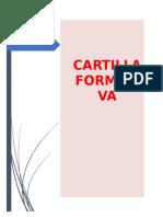 CARTILLA FORMATIVA