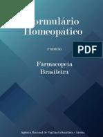 Formulário Homeopático, 2ª Edição