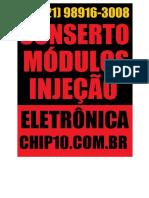 Conserto , Reparo e Manutencao de Modulos Injecao Eltronica , WHATSAPP (21) 98916-3008 R. Luís Pelicano, 188-302 - Itaoca São Gonçalo - RJ, 24471-640 -22.785753, -43.074115
