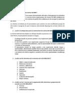 Preguntas Norma ISO 9001