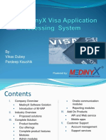 Medinyx Visa Application Processingsystem