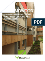 ThermoWood Cladding Brochure