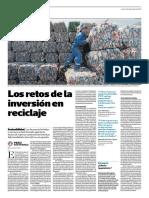 Los Retos de La Inversión en Reciclaje