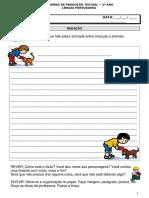 Caderno de Produção de Texto Aqui