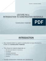 lecture1inoductiontoconstructionmaterials-170130154924