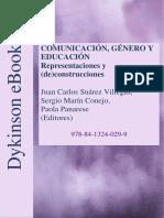 2019 - Actas Comunicación, Genero y Educación (Redit)