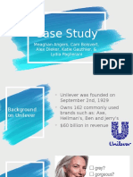 case study-consumer behavior -dove