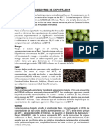 Productos de Exportacion