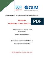 16HR-NguyenThiLanThao-ASS Cross Cultural Management.docx