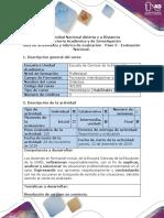 5. Guía de Actividades y Rúbrica de Evaluación. Paso 5-Evaluación Nacional