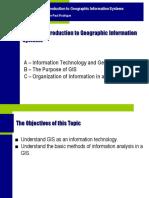 Topics of GIS