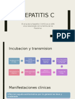 Hepatitis C D E pediatria PPT