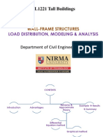 Lect 14 Analysis of Wall Frame Structures
