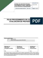 PG05-PROCEDIMIENTO DE COMPRAS Y EVALUACION DE PROVEEDORES.docx