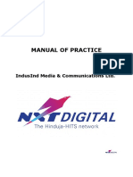 IMCL NXTD Manual of Practice