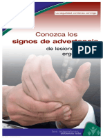 Signos de Advertencia de Lesiones Ergonómicas