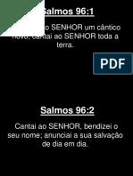 Salmos - 096