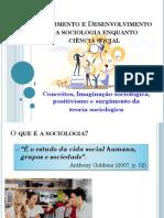 Sociologia Conceitos Imaginação Sociológica e Desenvolvimento