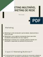 Aula 19 Marketing Multinível e Marketing de Rede