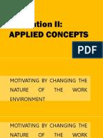 [ORGANIZATIONAL BEHAVIOR] Motivation II