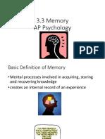 3 3 Memory2