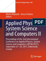 (Lecture Notes in Electrical Engineering 489) Klimis Ntalianis, Anca Croitoru - Applied Physics, System Science and Computers II-Springer International Publishing (2019).pdf