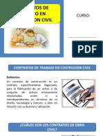 Contratos de Trabajo en Costrucion Civil