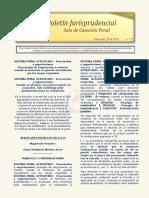 Boletin Jurisprudencial 2019-11-29