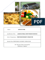 agricultural crop production CBLM
