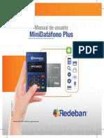 Minidatafono Redeban