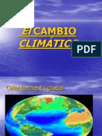 El Cambio Climatico y Sus Consecuencias
