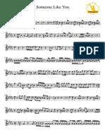 《Someone Like You》乐谱.pdf