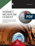 Normet Microfine Cement Brochure Eng 0