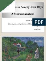 Wide Sargasso Sea - Marxist Analysis