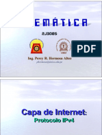 Telemática Clase 04 Capa de Internet Protocolo IP