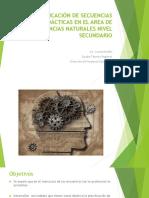 La planificación de secuencias didácticas en el área de Ciencias Naturales en la ES-2015[1] (1)
